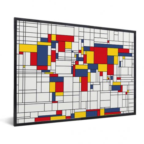 Mondrian – original im Rahmen