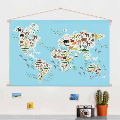 Fauna & Flora Textilposter