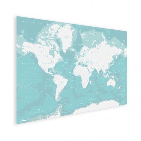 Ozeane Weltkarte Poster