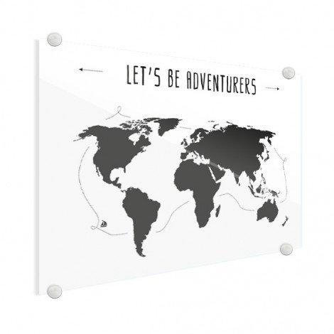 Tekst Adventures Acrylglas
