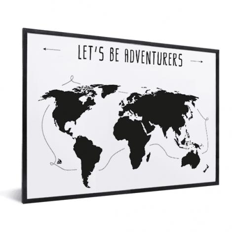 Text adventures im Rahmen