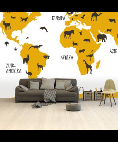 Tiere Gelb Tapete