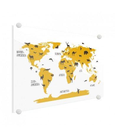 Tiere gelb Acrylglas