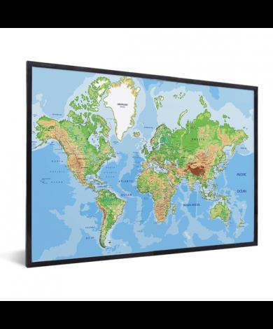 Geografisch im Rahmen