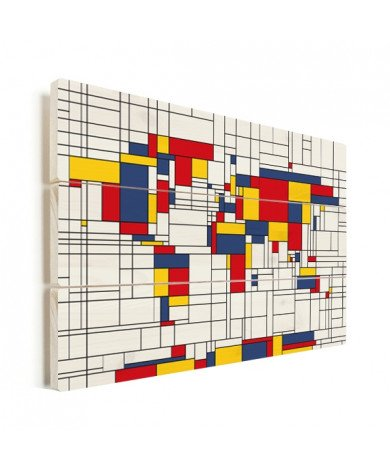 Mondrian - original Holz