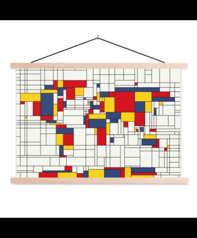 Mondrian - original Textilposter