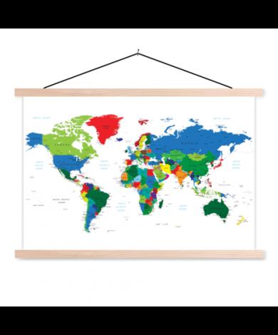 Alle Länder Textilposter