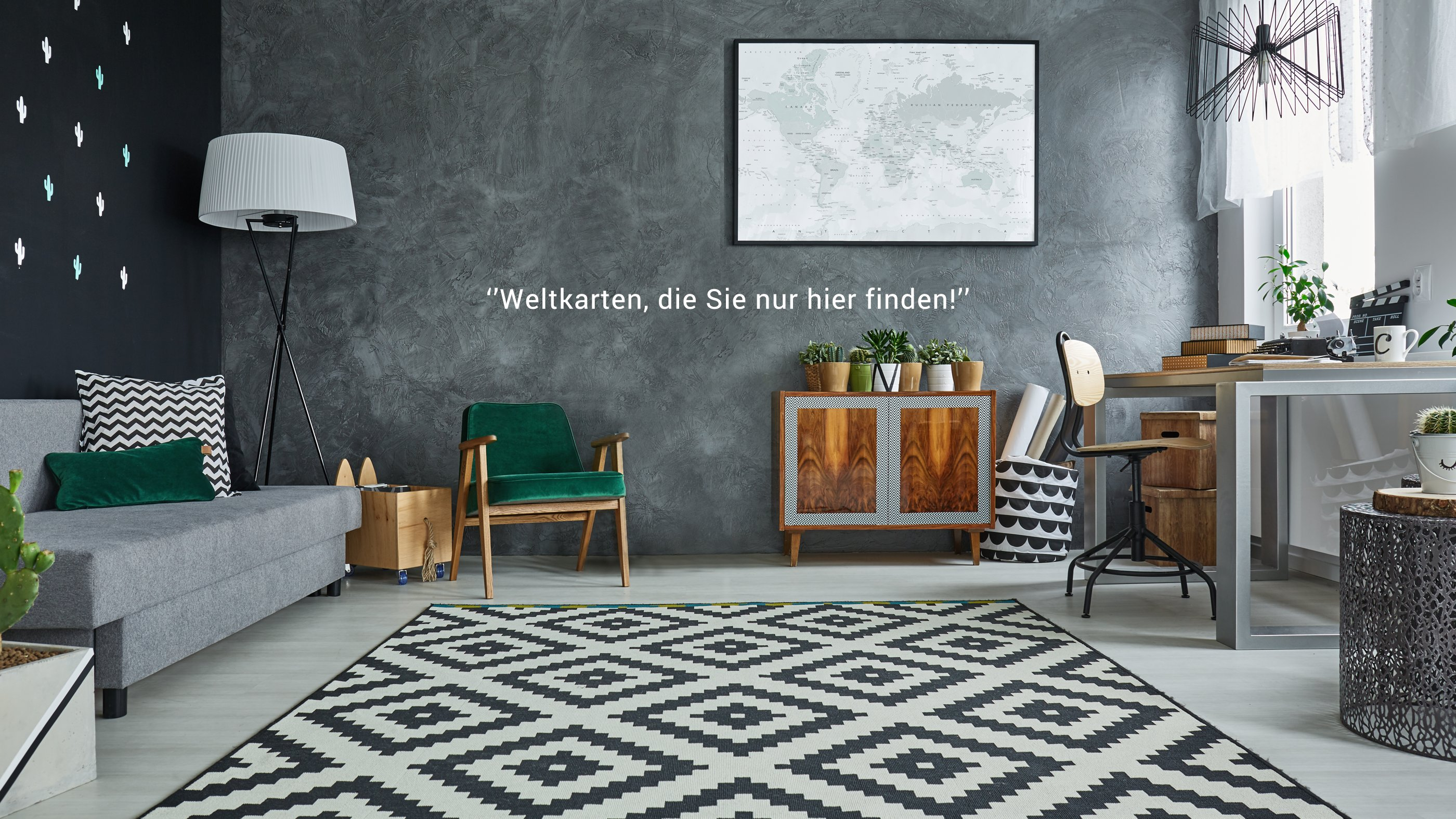 Weltkarten.at Interior Innendesign